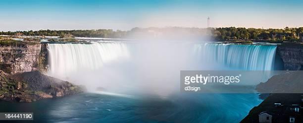 Long exposure of Horseshoe Falls of Niagara Falls