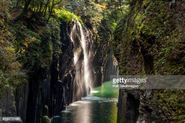 Long Exposure of Manai Falls, Takachiho Gorge