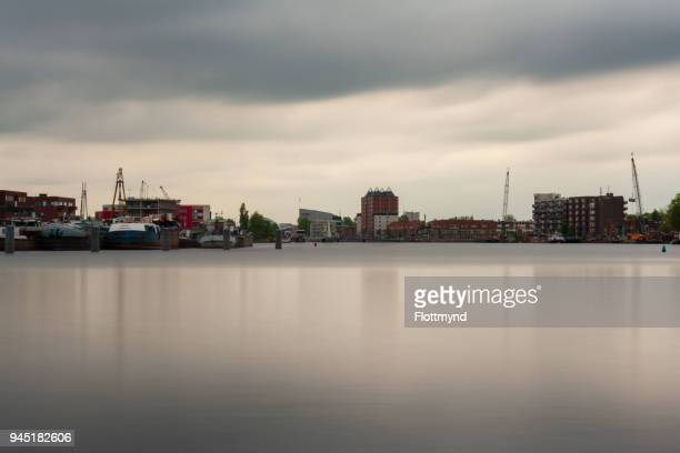 Long Exposure of the river Spaarne, Haarlem