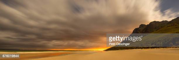 long exposure on the beach at koggel bay. - hd format stock pictures, royalty-free photos & images