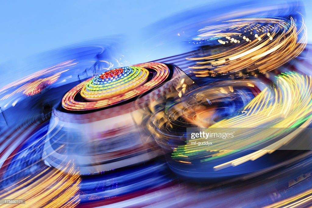 Spinning diversión : Foto de stock