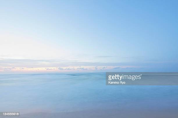 long exposure - horizon over water stock pictures, royalty-free photos & images