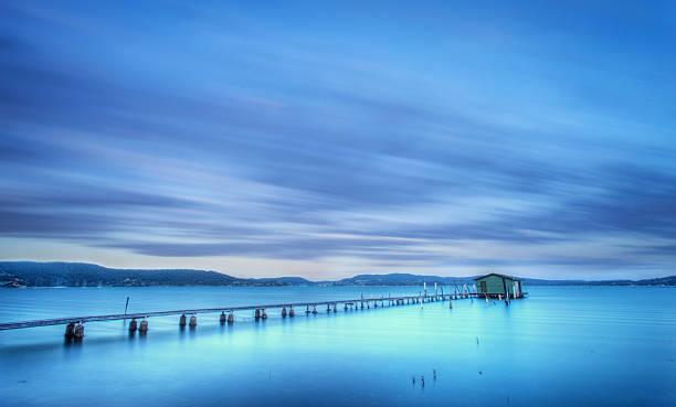 Long exposure wharf