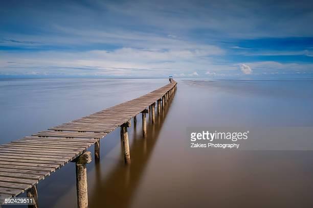 A long jetty at Punang