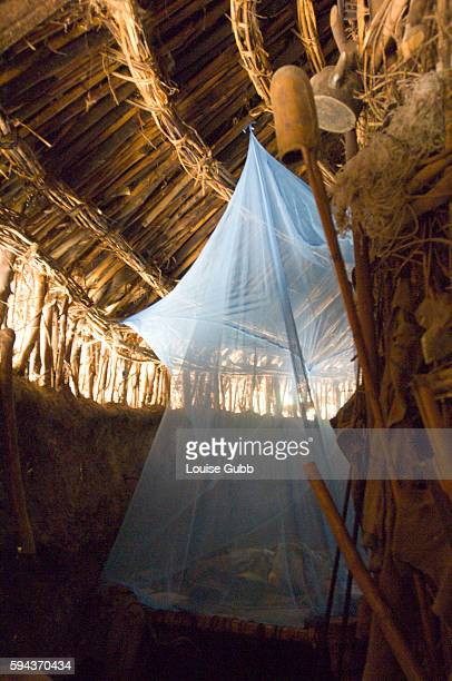 A Long Lasting Insecticide Nets hangs in a traditional north Shoa home The nets help to repell bugs and prevent malaria the country's biggest killer...