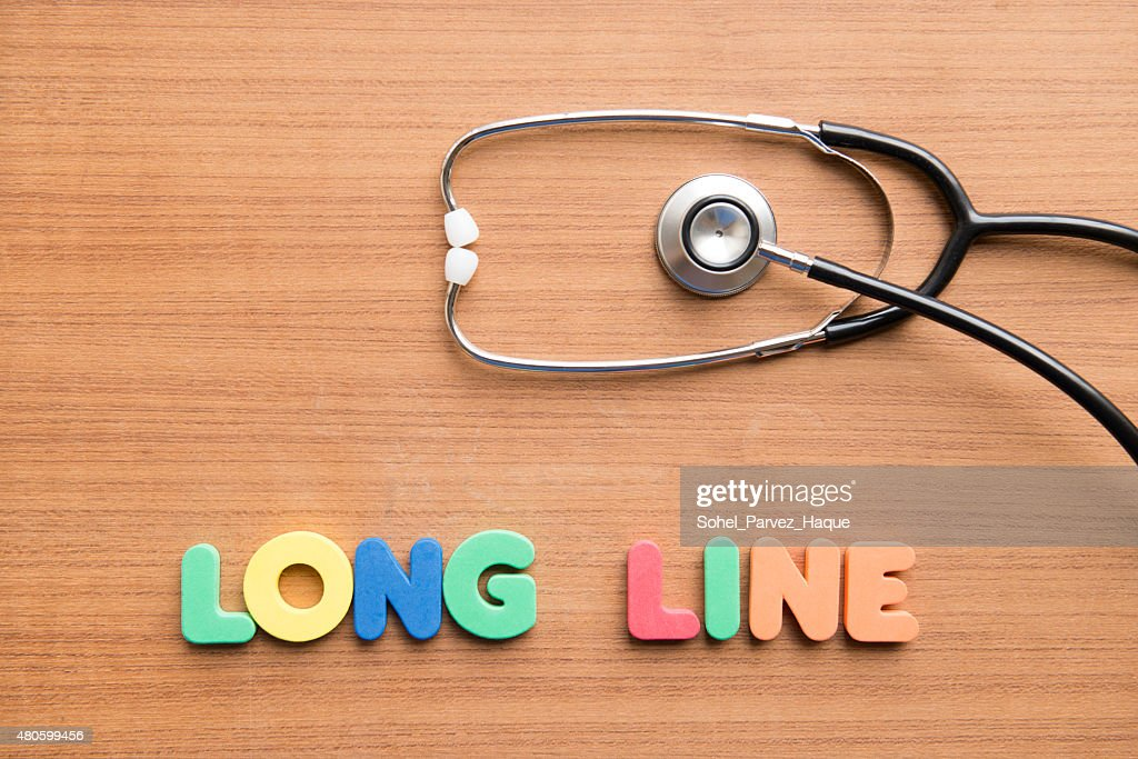 Long line : Stock Photo