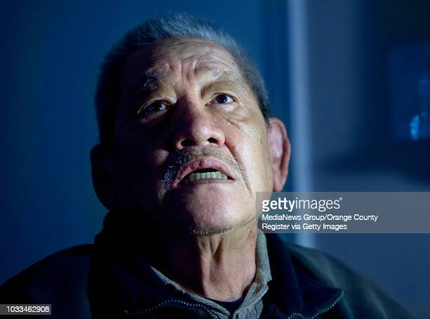 Long Ma gets emotional while telling about his 5day ordeal of being kidnapped by three inmates who escaped from the MenÕs Central Jail in Santa Ana...