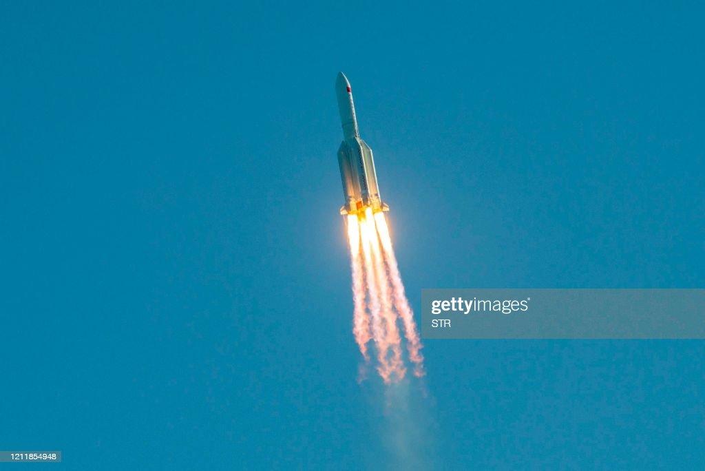 CHINA-SPACE-LAUNCH : News Photo