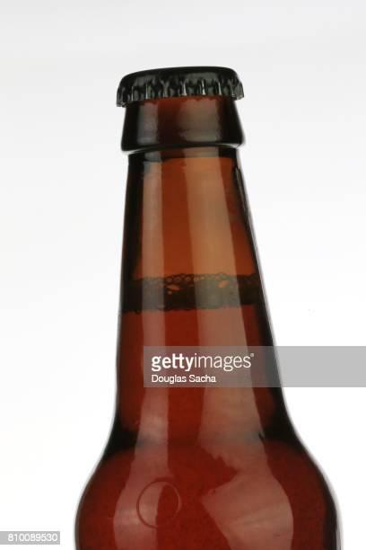 Long neck beer bottle