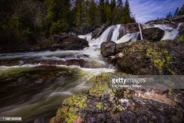 long orphan - lake superior provincial park stock pictures, royalty-free photos & images