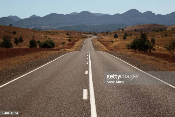 Long outback road