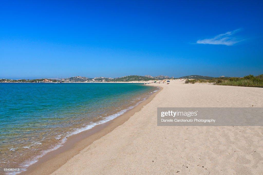 Long sandy beach : Stock Photo