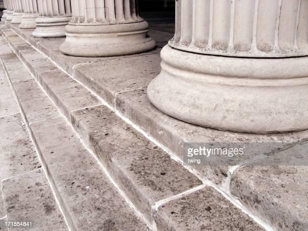 Long stone columns