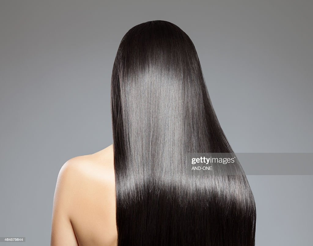 Long straight hair : Stock Photo