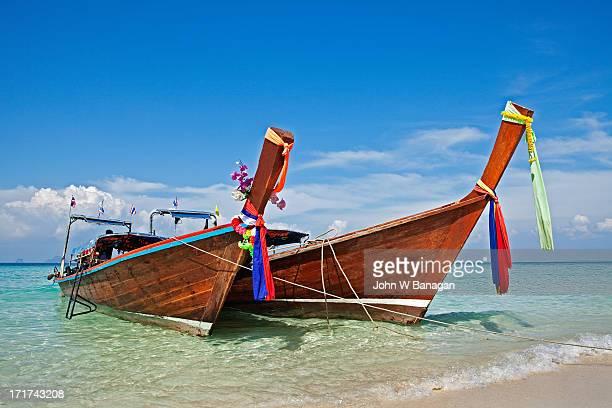 Long tail boat,  Koh Poda, Krabi