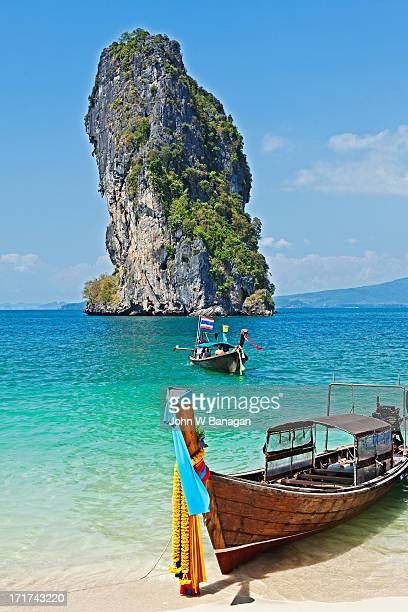 Long tail boat, Koh Poda, Krabi