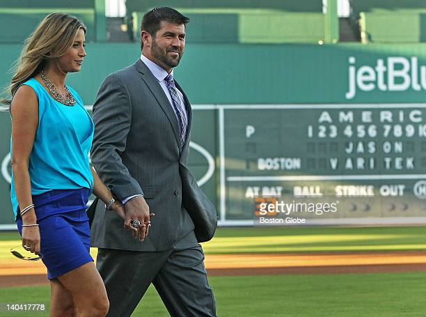 Long time Red Sox catcher and former team captain Jason Varitek announced his retirement from baseball during a ceremony held at home plate of...