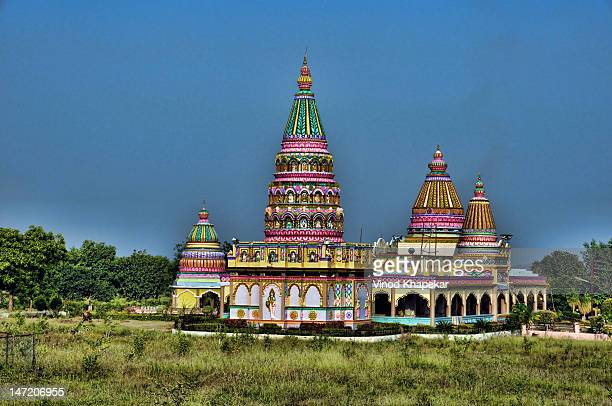 long view of temple - madhya pradesh stock pictures, royalty-free photos & images