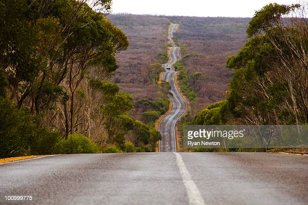 Long Winding Road on Kangaroo Island