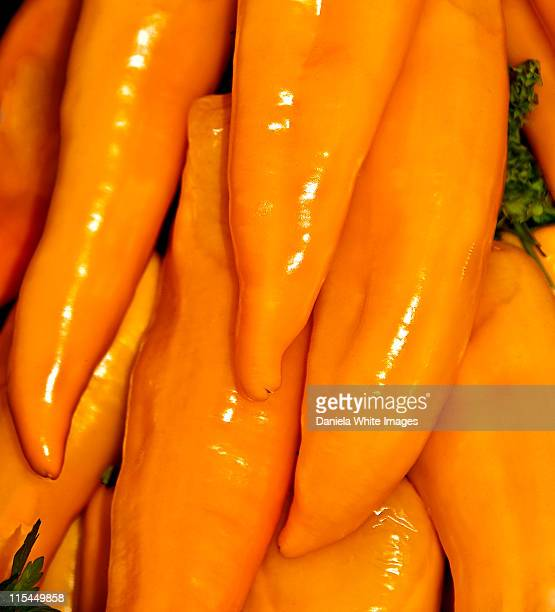 long yellow peppers - chelsea flower show stock pictures, royalty-free photos & images