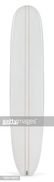Longboard, isoliert auf weiss