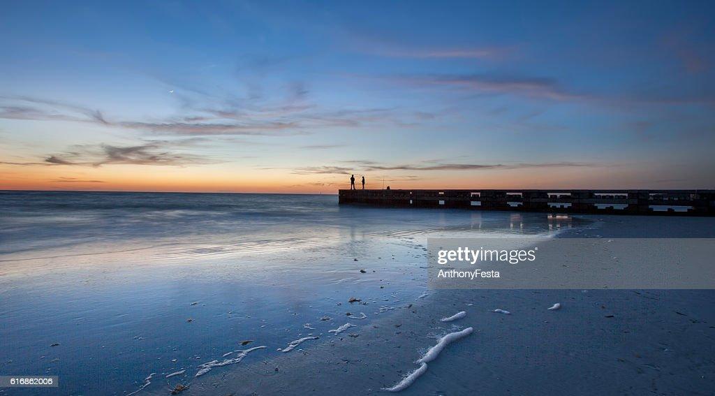 Longboat Key Afterglow : Stock Photo