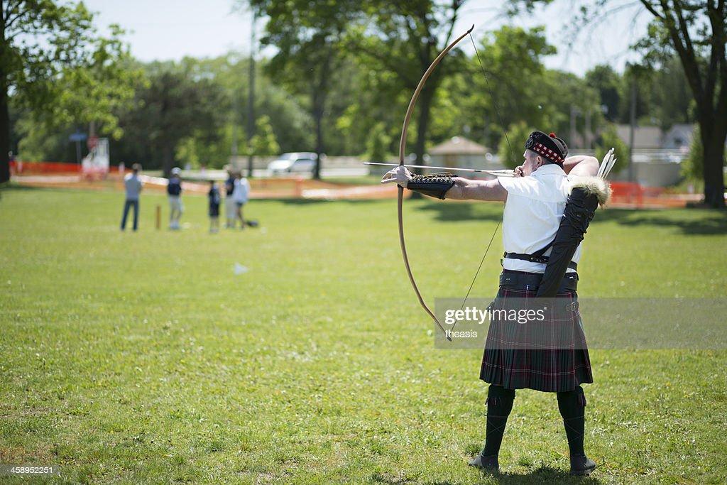 Longbow Archer : Stock Photo
