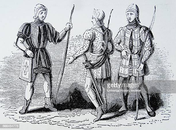 Longbowmen of the 14th century