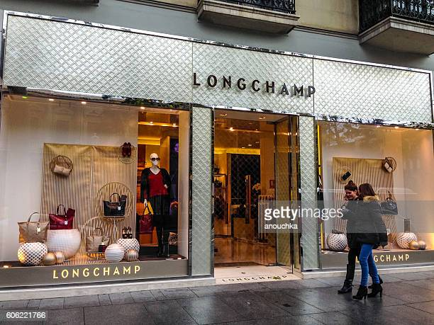 Longchamp store in Madrid, Spain