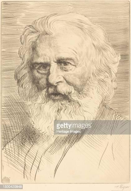 Longfellow, 1st plate. Artist Alphonse Legros.