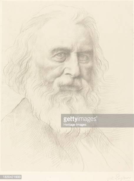 Longfellow, 2nd plate. Artist Alphonse Legros.