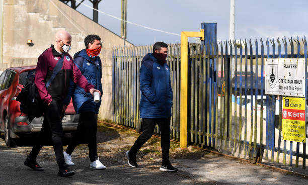 IRL: Longford Town v Drogheda United - SSE Airtricity League Premier Division