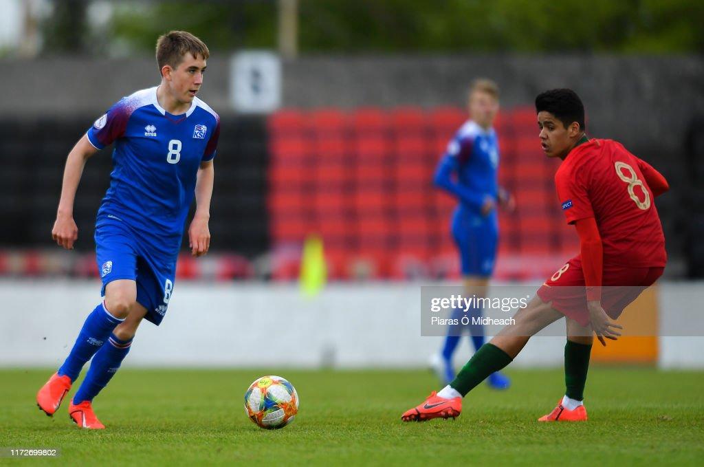 Portugal v Iceland - 2019 UEFA European Under-17 Championships Group C : News Photo
