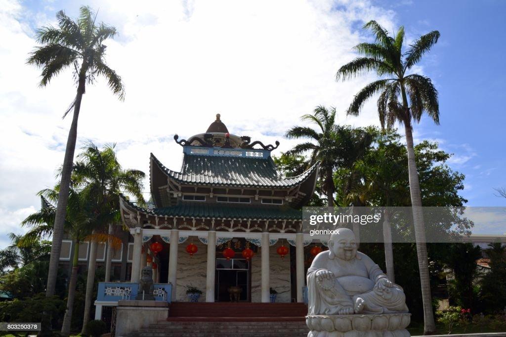 Longhua Temple in Davao, Mindanao, Philippines : Stock Photo