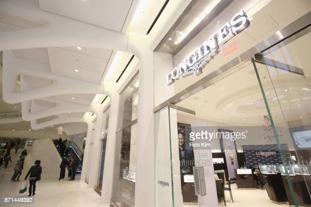 Longines launches the Conquest VHP at the Longines Boutique at Westfield World Trade Center on November 7 2017 in New York City