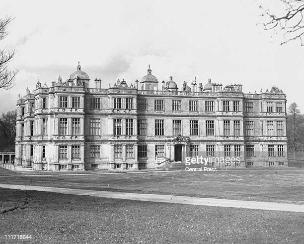 Longleat House Wiltshire stately home of the Marquess of Bath 1st May 1975