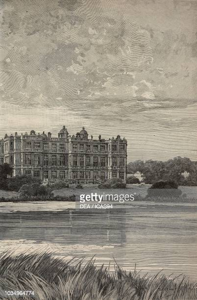 Longleat the seat of the Marquis of Bath United Kingdom engraving from The Illustrated London News volume 90 No 2494 February 5 1887