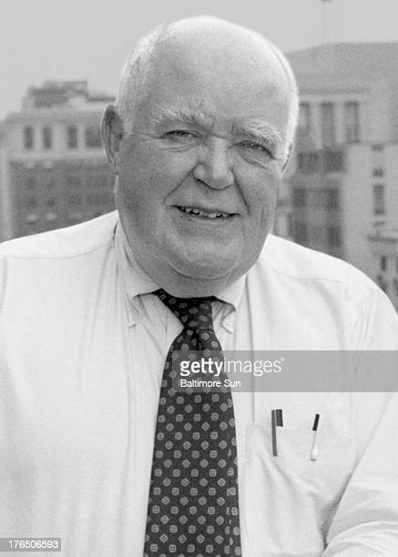 Long-time Baltimore Sun columnist Jack Germond, shown in this 1992 file photo, died on Wednesday, August 14 at age 85.