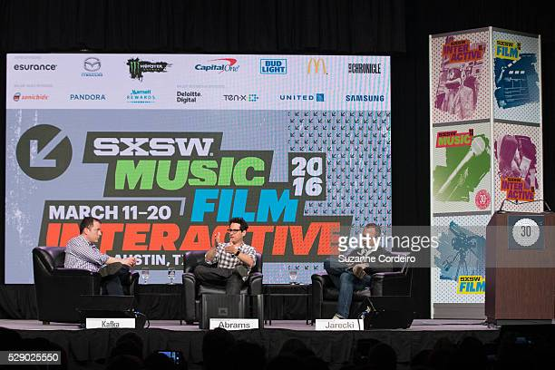 Longtime friends and collaborators Andrew Jarecki JJ Abrams discuss their journeys on 'The Eyes of Robots and Murderers' SXSW Interactive panel led...