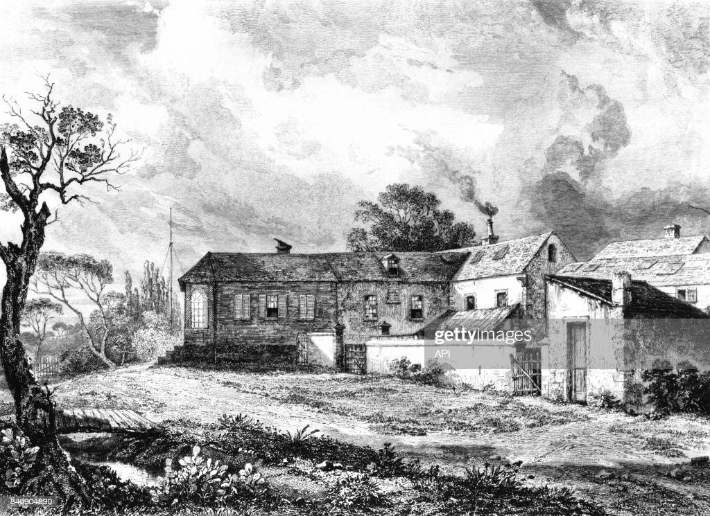 Maison Longwood House Sur Lu0027île De Sainte Hélène