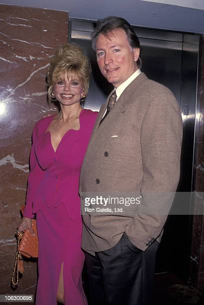 Loni Anderson and Geoff Brown during 49th Annual Valentine Luncheon and Show in Los Angeles California United States