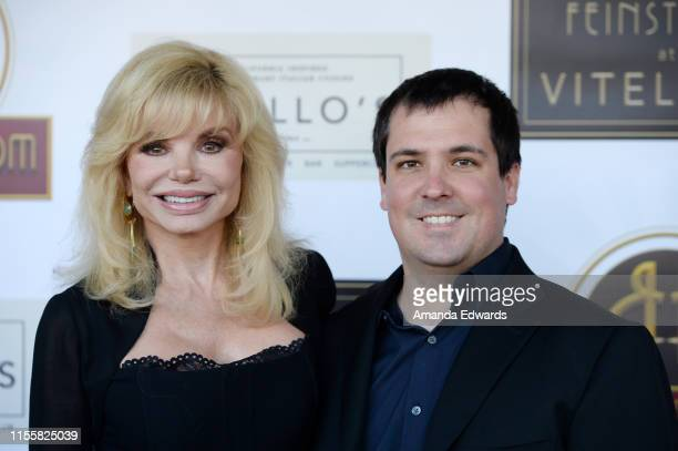 Loni Anderson and her son Quinton Anderson Reynolds arrive at the debut of the Southern California location of Michael Feinstein's new supper club...