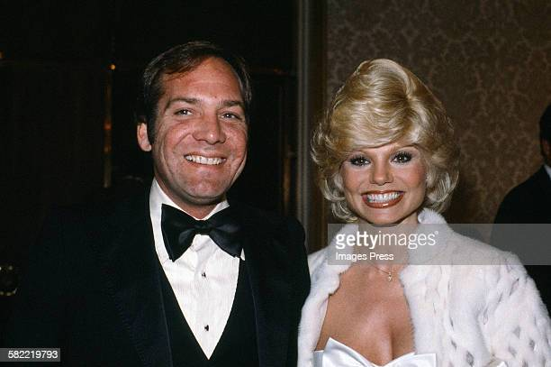 Loni Anderson and husband Ross Bickell circa 1981 in New York City