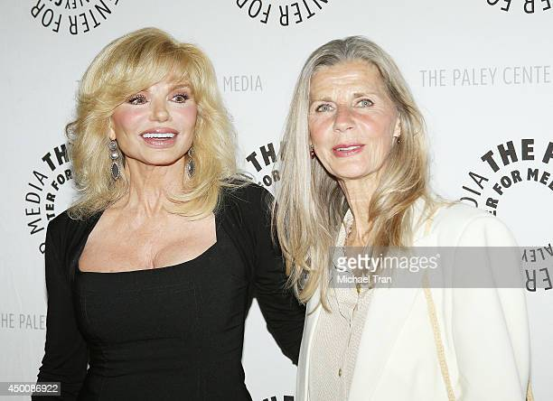 Loni Anderson and Jan Smithers arrive at the Baby If You've Ever Wondered A WKRP In Cincinnati reunion held at The Paley Center for Media on June 4...