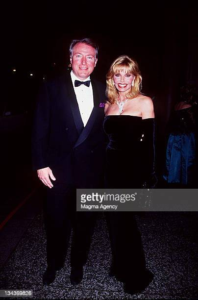 Loni Anderson and Jeff Brown during Natalie Cole and Friends GALA at Beverly Hills in Beverly Hills CA United States