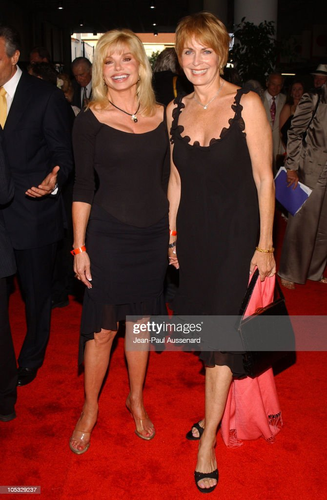 f87d6274065fc Loni Anderson and Joanna Cassidy during Petersen Automotive Museum ...