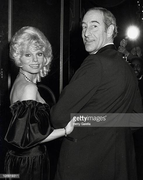 Loni Anderson and Thomas Hoving during Sammy Davis Jr Honored At The Candy Man Ball By Temple Beth Am at Beverly Hilton Hotel in Beverly Hills...