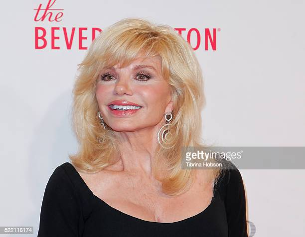 Loni Anderson attends the 23rd annual Race to Erase MS Gala at The Beverly Hilton Hotel on April 15 2016 in Beverly Hills California