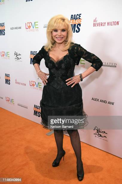 Loni Anderson attends the 26th annual Race to Erase MS on May 10 2019 in Beverly Hills California