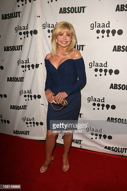 Loni Anderson during 18th Annual GLAAD Media Awards Arrivals at Kodak Theatre in Hollywood California United States